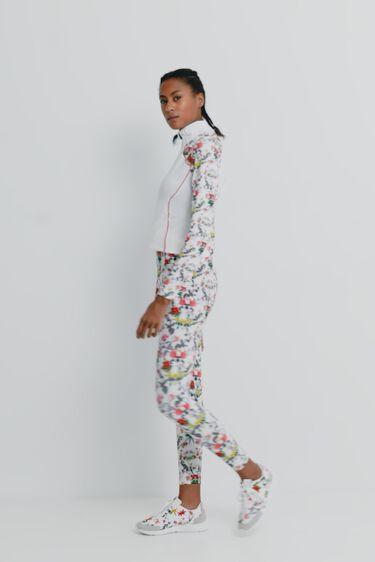 Legging slim tobillero floral | Desigual