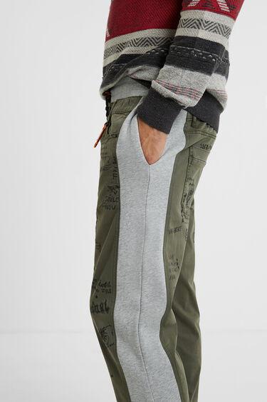 Pantaloni jogger in felpa chino | Desigual