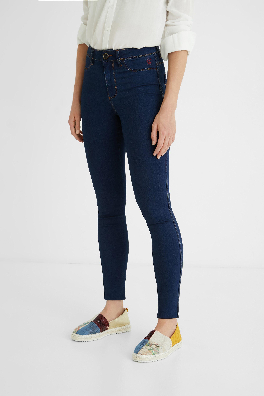 Pantalon jean 2nd skin - BLUE - 28 - Desigual - Modalova