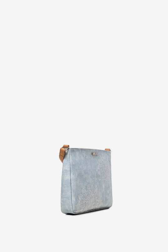 Bolso marrón con mandalas Espot | Desigual