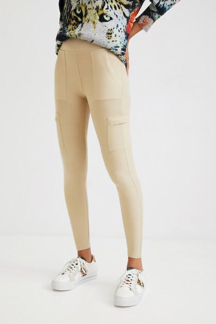 Legging slim militaire