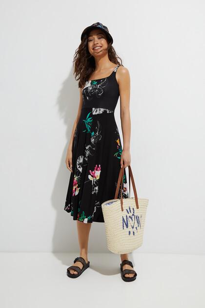 Tank top dress floral