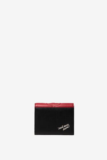 Kwadratowy portfel w kształcie koperty | Desigual
