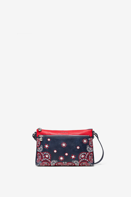 Crossbody bag embroideries