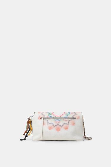 Crossbody bag tie-dye mandalas | Desigual