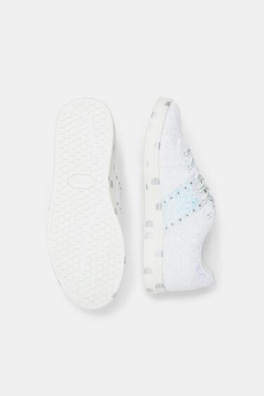 Kosmische sneakers met pailletten | Desigual
