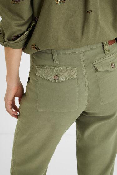 Hose Comfort Fit Farbkleckse | Desigual