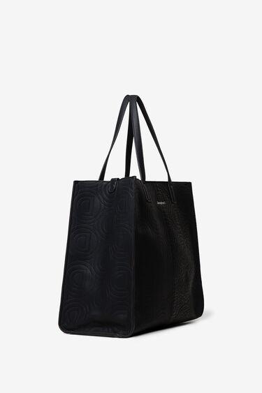 2-in-1-Tasche mit Logomania-Patch   Desigual