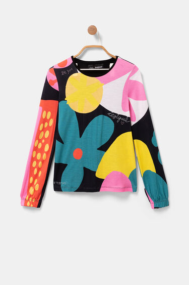 Camiseta algodón margaritas | Desigual