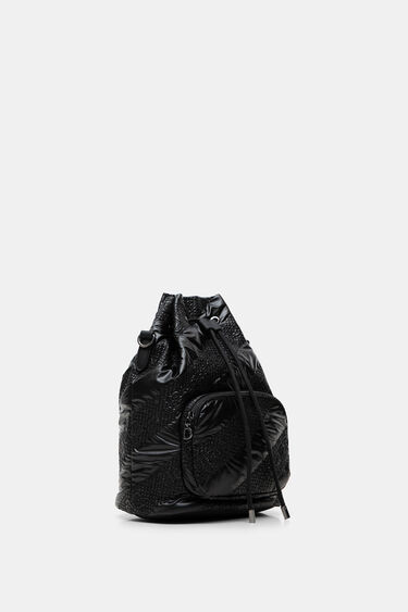 Sack bag padded gathered | Desigual