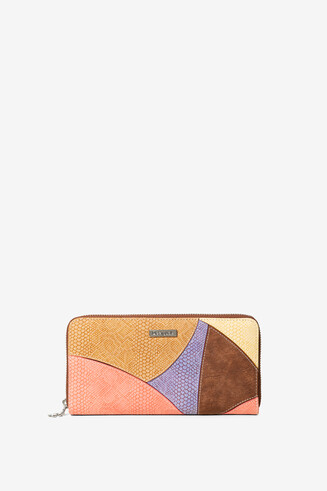 Colour Patch Wallet Jackie Fiona