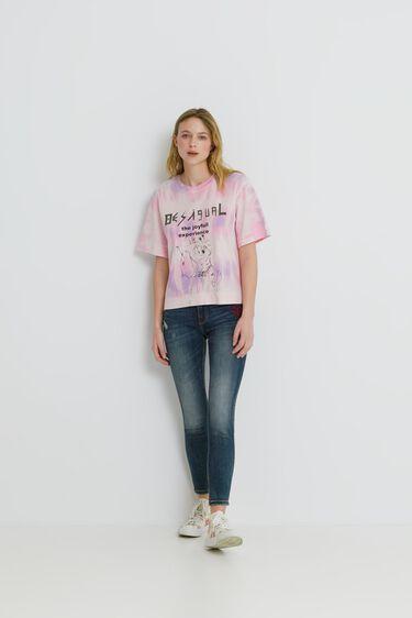 Messages short T-shirt   Desigual