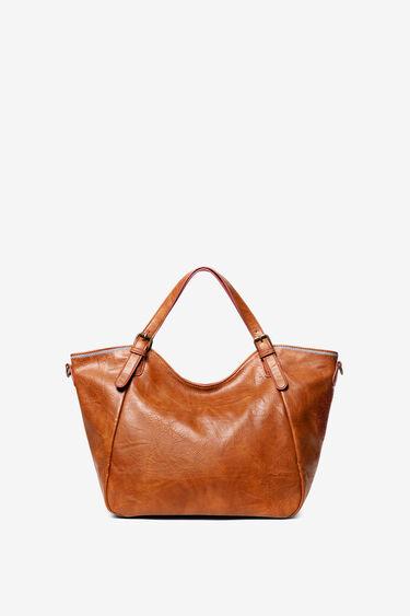 Bestickte Tasche mit doppeltem Henkel | Desigual