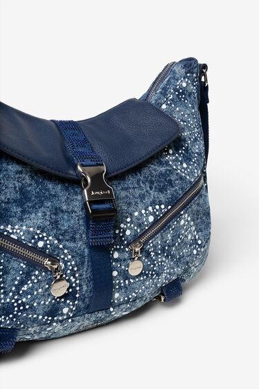 Borsa di jeans con mandala galattici | Desigual