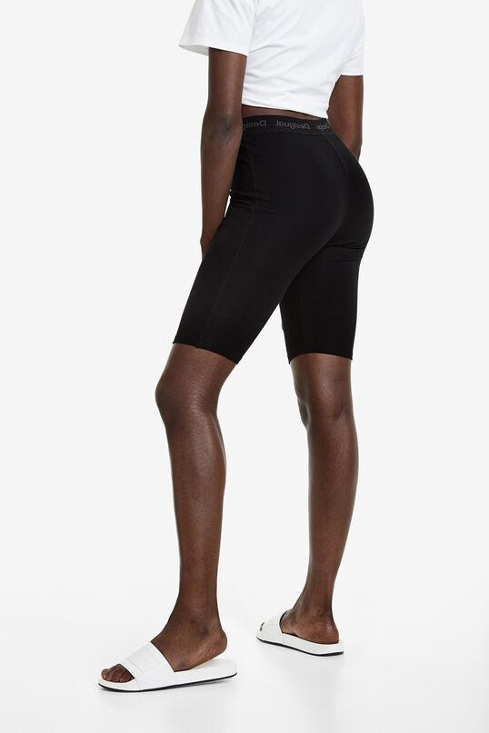 Cycling leggings with stretch waist | Desigual