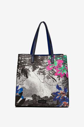 2 in 1 landscape and floral bag