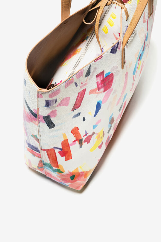 White Confetti Seattle Shoppertas | Desigual