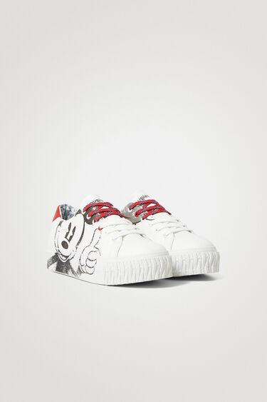 Sneakers piel sintética ilustración | Desigual