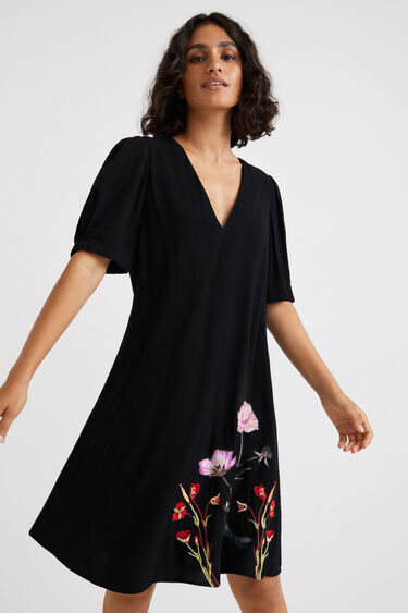 Krótka sukienka tunikowa | Desigual