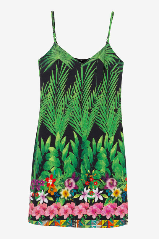Tropical Strappy Dress Annette   Desigual