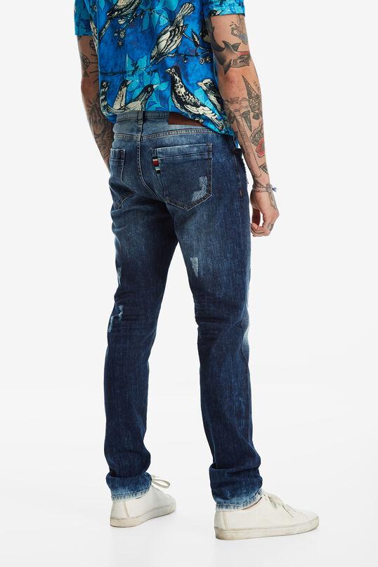 Dopasowane spodnie jeansowe   Desigual