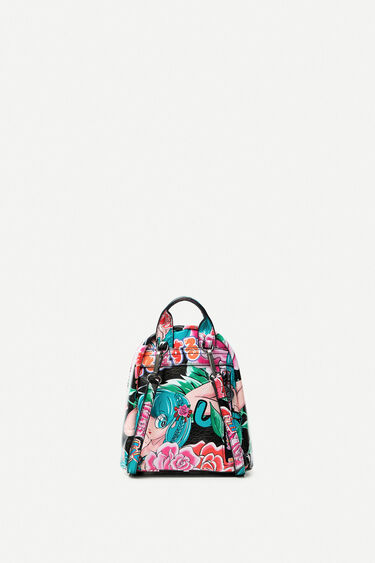 Mini mochila estampada | Desigual
