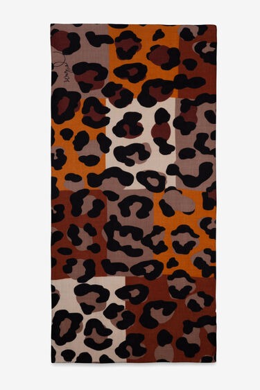 Mocador animal print multicolor | Desigual
