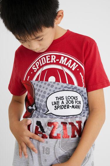 T-shirt Spiderman sequin réversible | Desigual
