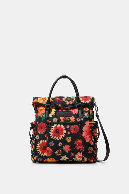 Medium flowery backpack