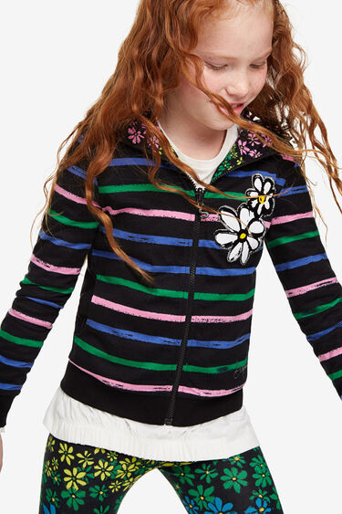 2 in 1 reversible sweatshirt | Desigual