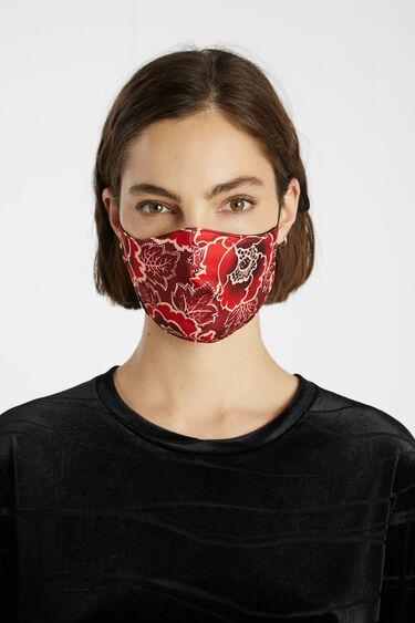 Floral face mask + pouch | Desigual