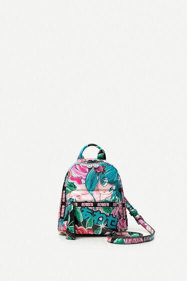 Printed mini-backpack | Desigual