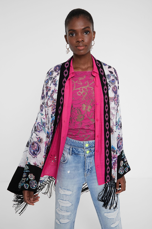 Kimono stampa floreale   Desigual