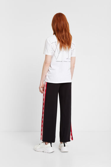 Culottes tracksuit with lace | Desigual