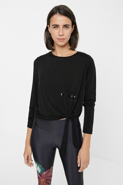 T-shirt Cupro noeud