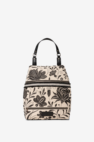 Embroidered African inspiration backpack