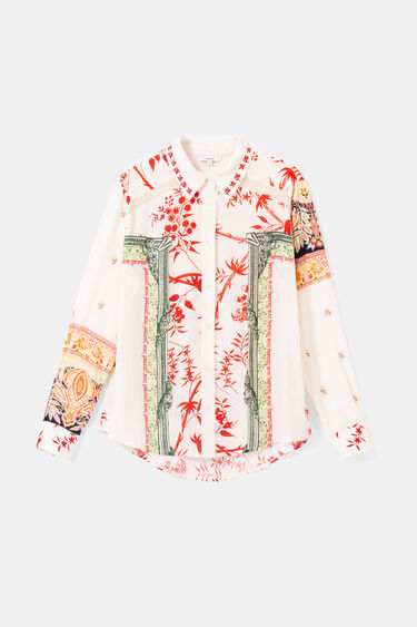 Hindu print shirt | Desigual