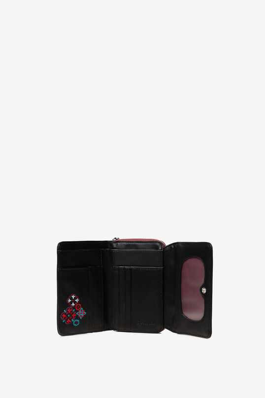 Small embroidered coin wallet | Desigual