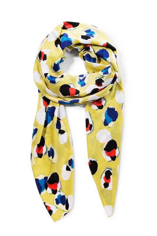 Women's lime green scarf - Pardus | Desigual
