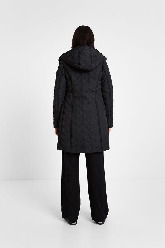 Gewatteerde jas met capuchon | Desigual