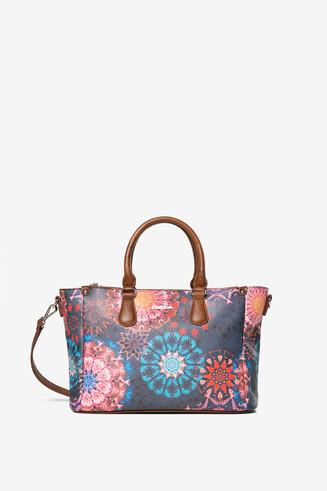 Galactic mandala handbag