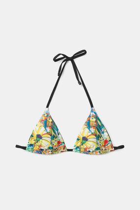 Reversible bikini top triangle