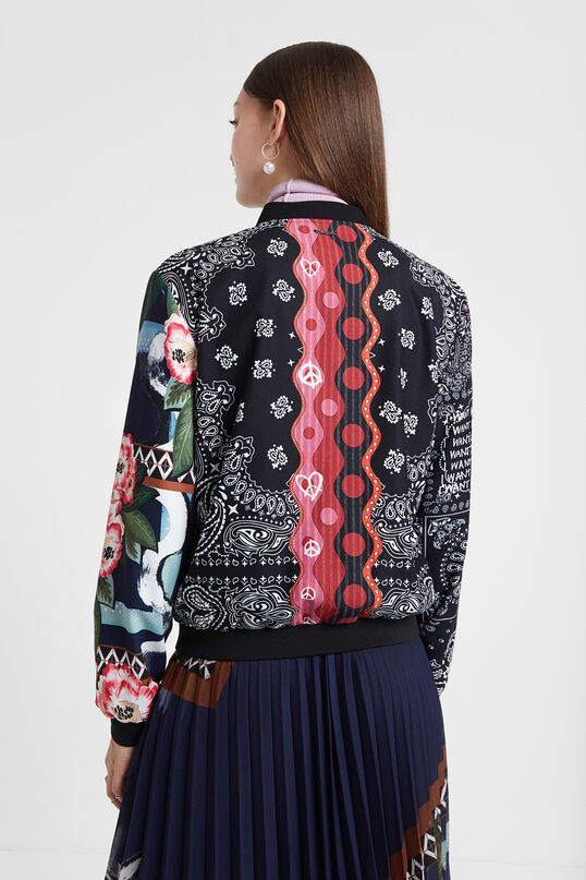 Boho patch jacket   Desigual