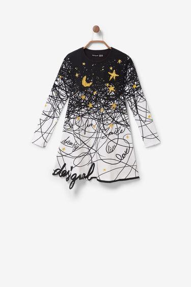 Arty T-shirt dress | Desigual