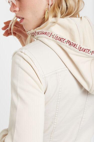 Floral denim jacket | Desigual