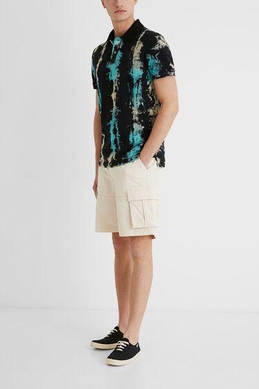 Tie-Dye Polo Shirt | Desigual
