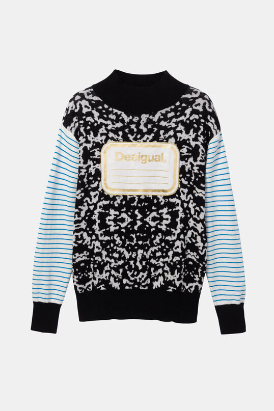 Jersei tricot coll alt Young Talents | Desigual