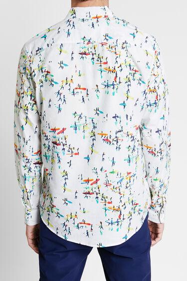 Camisa estampado surf | Desigual
