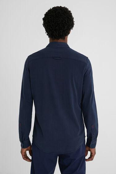 Camisa regular bimateria | Desigual