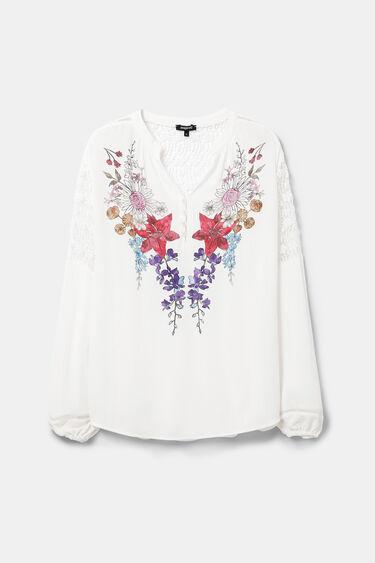Boho lace blouse | Desigual